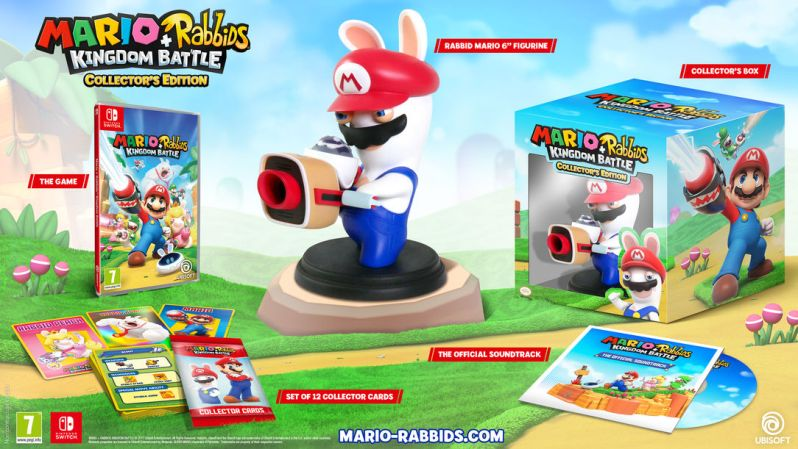 Mario Rabbids Collector's edition